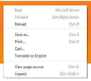right click translate google chrome